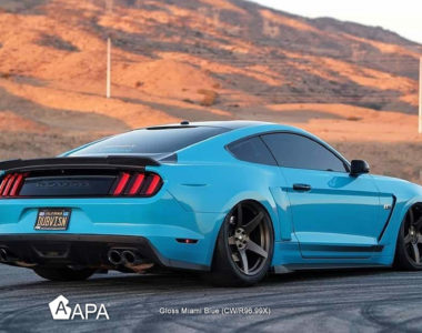 Gloss Miami Blue - Ford Mustang - apa america_02