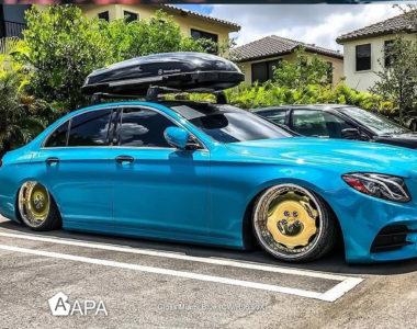 Gloss Miami Blue - Mercedes - Tread Marks - apa america_05