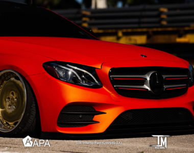 Silk Inferno Red - Mercedes - Tread Marks - apa america_01