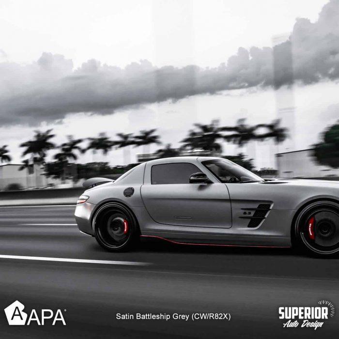 Satin Battleship Grey - Group - Superior auto design - apa america_04