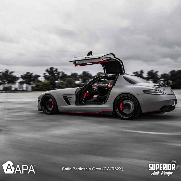 Satin Battleship Grey - Group - Superior auto design - apa america_08