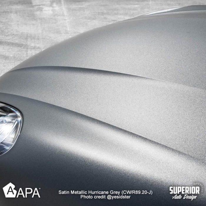 Satin Metallic Hurricane Grey - Porsche Macan S - apa america_018